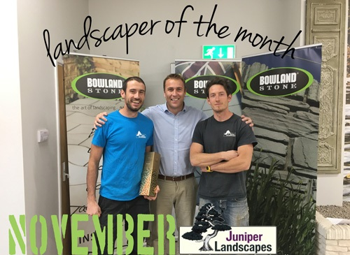 November Landscaper of the Month!